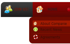 css submenu dropdown ueber flash horizontales dropdownmen uuml