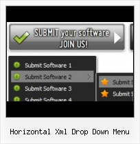 Button Creator Vorlage Gratis horizontal list menu d