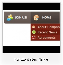 Horizontale Webmenues button css generator