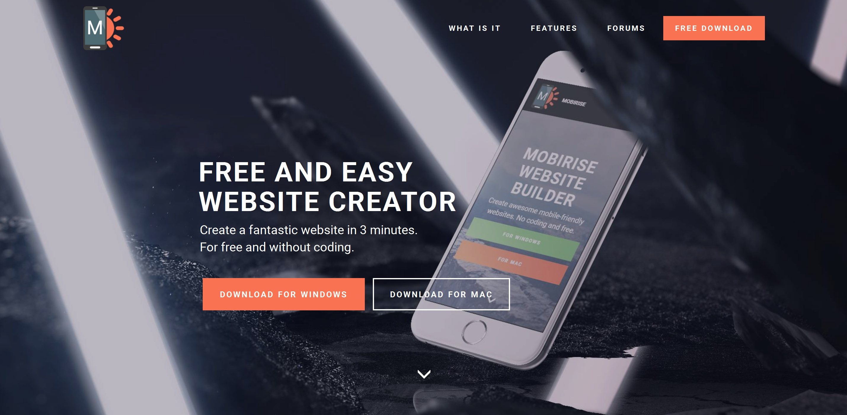 Responsive Simple Website Creator Software