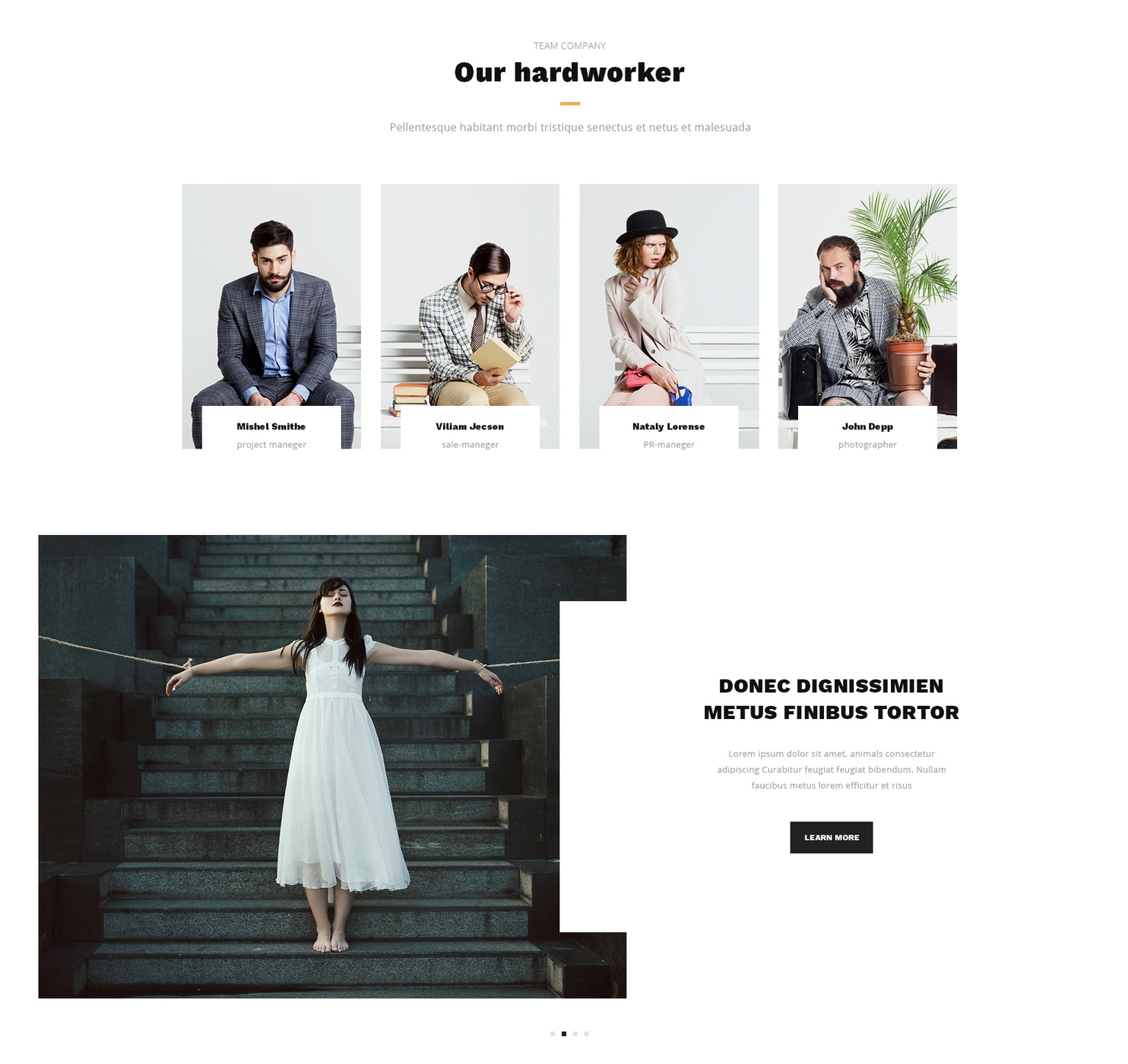 Free Bootstrap Single Page Theme
