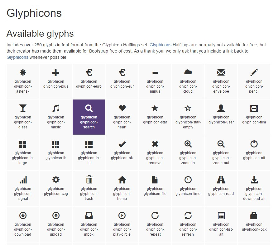 Bootstrap Icons official  records