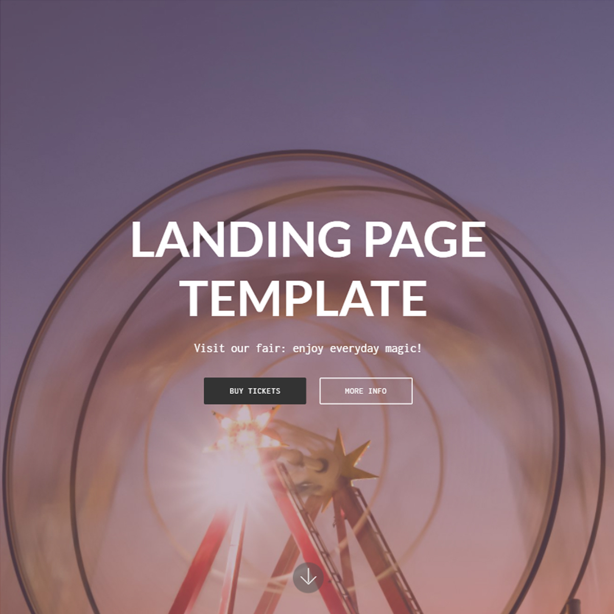 HTML5 Bootstrap Landing Templates